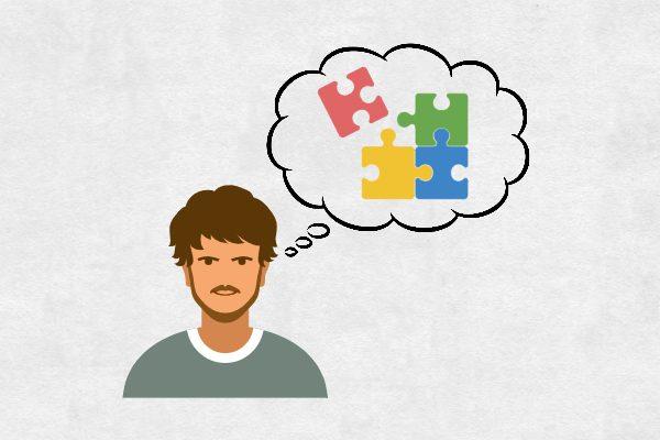 In Komponenten gründen heißt verschiednen Puzzleteile zusammen zu setzen. Dies zeigt das Bild